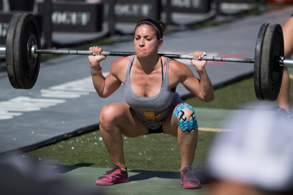 crossfit back squat girls